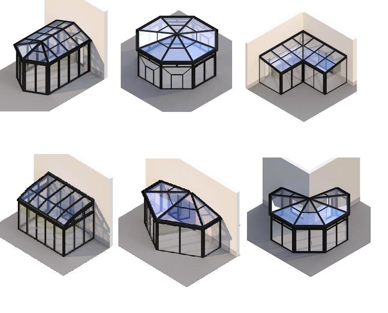 Типовые проекты зимних садов