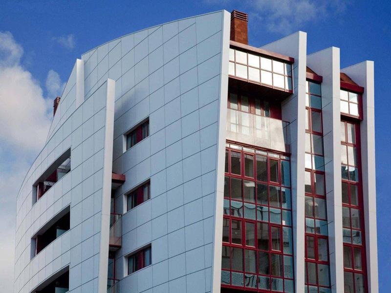 Вентилируемые фасады из композита